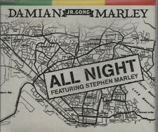 DAMIAN MARLEY feat STEPHEN MARLEY All night 3 TRACK CD NEW - NOT SEALED