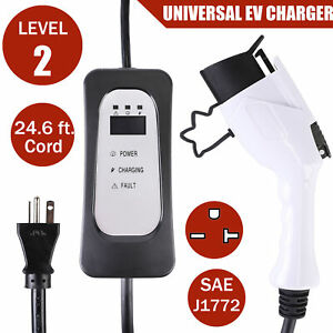 Image Is Loading Evse Electric Vehicle Charger Ev Level 2