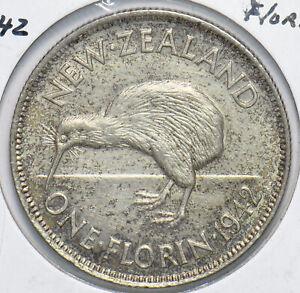 New Zealand 1942 Florin Kiwi Bird animal 192544 combine shipping