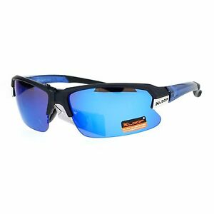 8a0861512370 Xloop Sports Sunglasses Mens Half Rim Light Weight Frame UV 400 | eBay