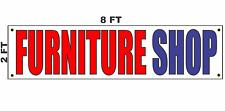Furniture Shop Banner Sign 2x8
