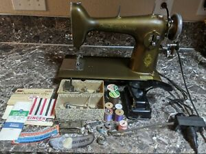 Free-Westinghouse-Type-E-Vintage-Sewing-Machine-Accessories-Tested-Working
