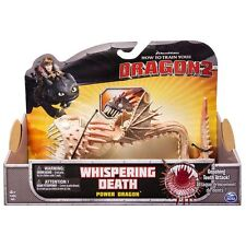 """WHITE WHISPERING DEATH 10"""" DRAGON DEFENDERS OF BERK HOW TO TRAIN YOUR DRAGON 2"""