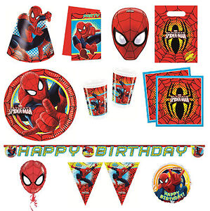 ULTIMATE-SPIDER-MAN-gamma-festa-compleanno-Spiderman-Marvel