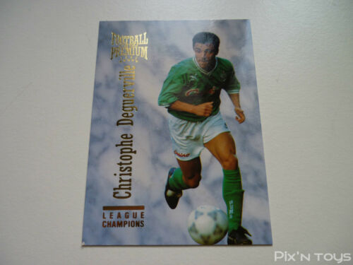 Carte Football Cards Premium 1995 Panini League Champions N°029 Near mint