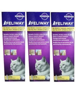 Phéromone de pulvérisation Feliway 3 x 60 ml