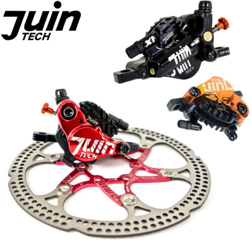 Juin Tech X1 Hybrid Hydraulic Road Disc Brake Advanced Cable Pull Caliper 160mm
