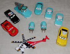 Disney Cars Mater Tale Rescue Squad Mia Tia Nurse Kori Burnt McQueen Chopper GTO