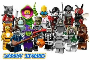 Lego-Minifigures-Series-14-Choose-1-or-All-Horror-Monster-Scary-FREE-POST