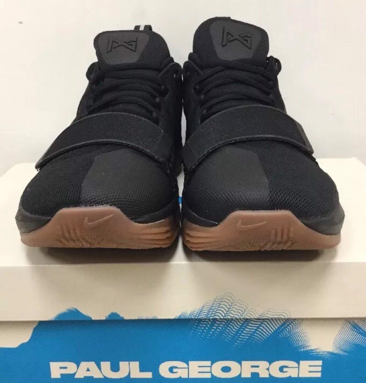 New Nike PG1 Paul George Men Basketball Black/Anthracite/Gum 878627 004 SZ 11