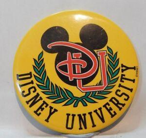 Vintage Disney Pin Badge Mickey mouse Disney University 7.5 cm