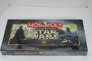 Monopoly-Star-Wars-Classic-Trilogy-Edition-1997-New-amp-Factory-Sealed