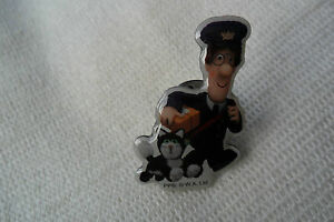 A great POSTMAN PATCAT  PARCEL character pin lapel badgefree ukpampp - SUTTON COLDFIELD, West Midlands, United Kingdom - A great POSTMAN PATCAT  PARCEL character pin lapel badgefree ukpampp - SUTTON COLDFIELD, West Midlands, United Kingdom