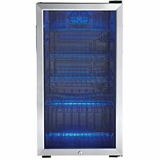 beverage center stainless steel can mini fridge door glass compact - Danby Mini Fridge