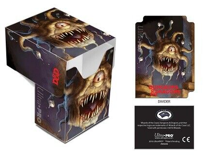 Ultra Pro Dungeons /& Dragons Beholder Full-View Deck Box