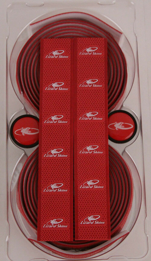 Lizard Skins Red DSP 2.5mm Durasoft Road Bike Wrap   Handlebar Tape New