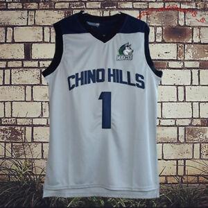 e6877f69b3e CHINOHILLS Lamelo Ball 1 Chino Hills Huskies Movie Basketball Jersey ...