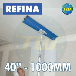 REFINA-40-034-100cm-Finishing-Spatula-with-Plastering-Skimming-Spat-Pole-1-2M