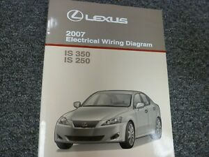 details about 2007 lexus is 350 & is 250 sedan electrical wiring diagram manual book em03d0u lexus is 250 water pump lexus is 250 wiring diagram #15