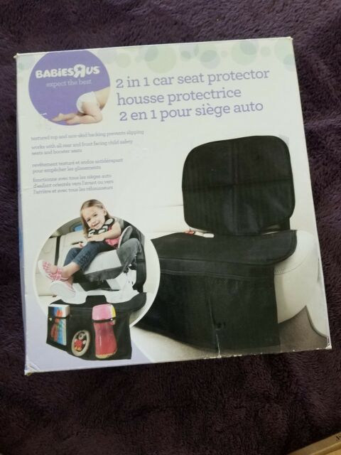 Babies R Us 2 In1 Car Seat Protector Safety Anti Slip Cushion Cover Baby Toddler