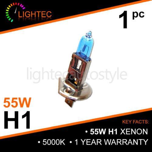H1 55 W Xénon Super Blanc Ampoules Faisceau Principal 12 V Halogène Mise à niveau de lumière 5000K FIAT