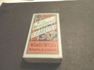 Cigarette-pack-Wills-WILD-WOODBINE-with-insert-but-no-cigarettes-vintage-10-pk