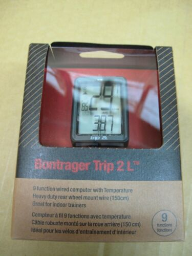 BONTRAGER Trip 2L Wired Computer Speed Cadence Odometer Dual Wheel Size