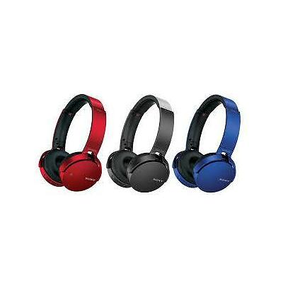 Sony MDR-XB650BT EXTRA BASS Bluetooth® Headphones - Black/Blue/Red