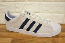 new arrivals 5c5a2 c0a88 Adidas Superstar Vulc Adv Mens Size 11 Grey White Leather Suede Trainers  BNWB
