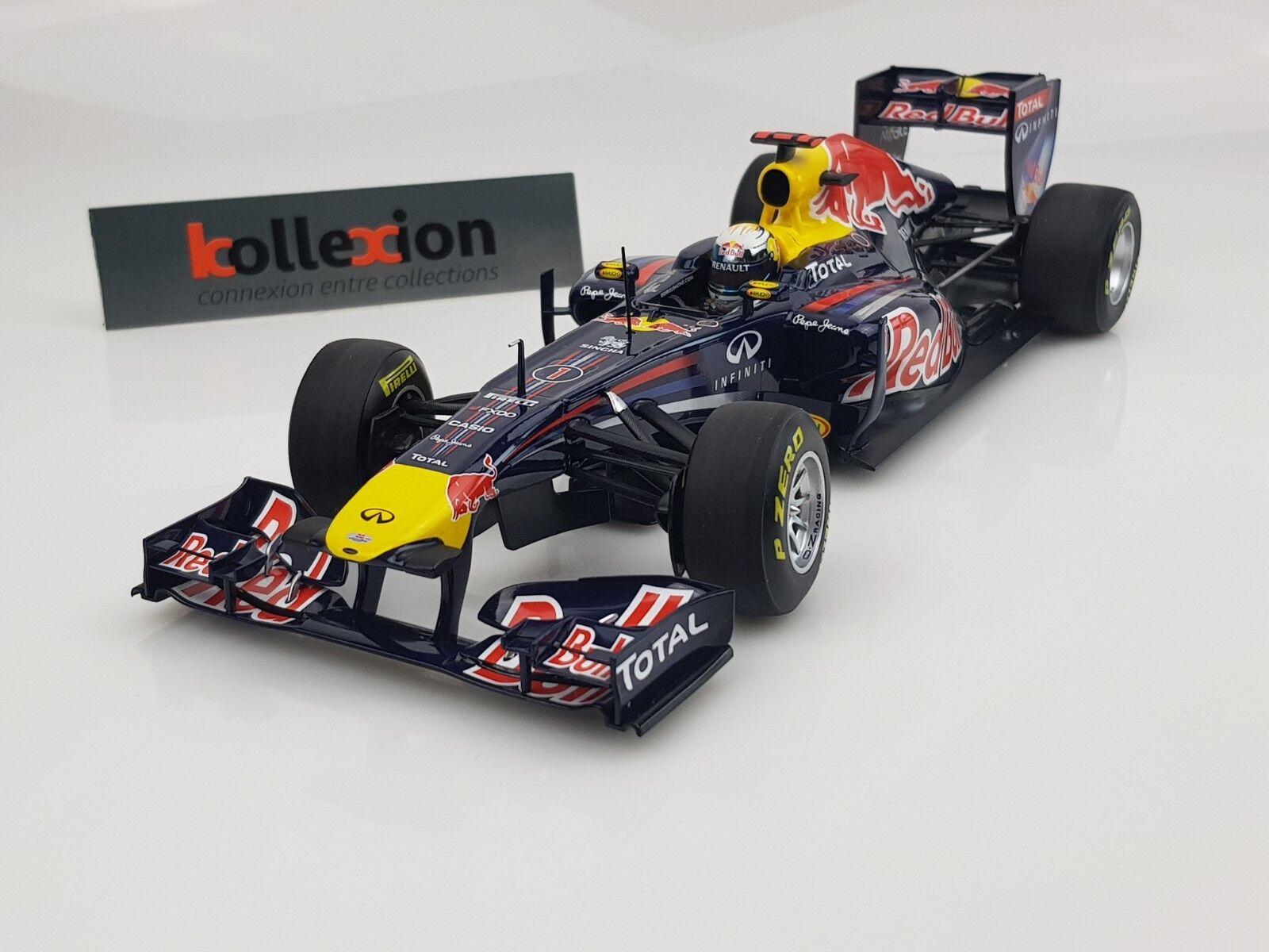 MINICHAMPS 110110001 rouge BULL Racing Renault RB7 S.Vettel 2011 1.18 NB