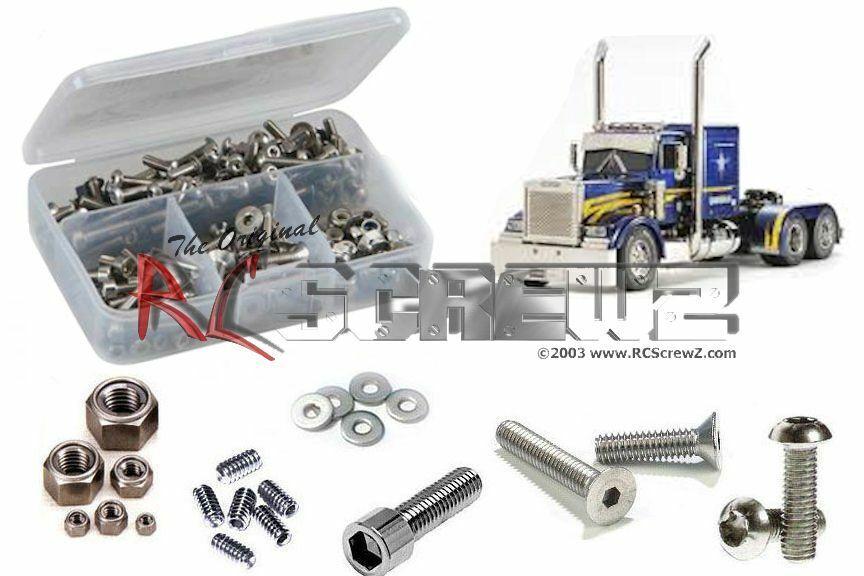 tutti i prodotti ottengono fino al 34% di sconto RCScrewZ Tamiya Gre Hauler 1 14th Stainless Steel Screw Screw Screw Kit - tam174  tutti i beni sono speciali