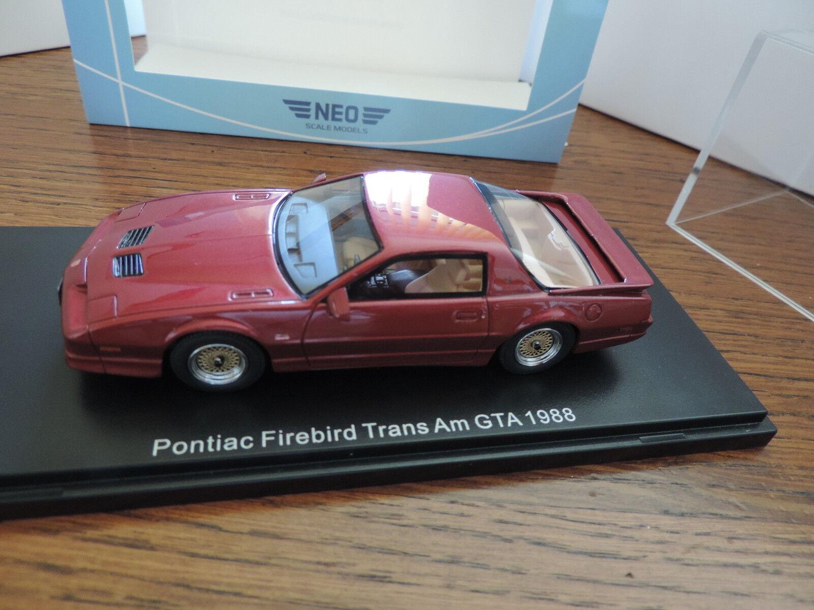 PONTIAC FIREBIRD TRANS AM GTA 1 43 NEO edition limitée