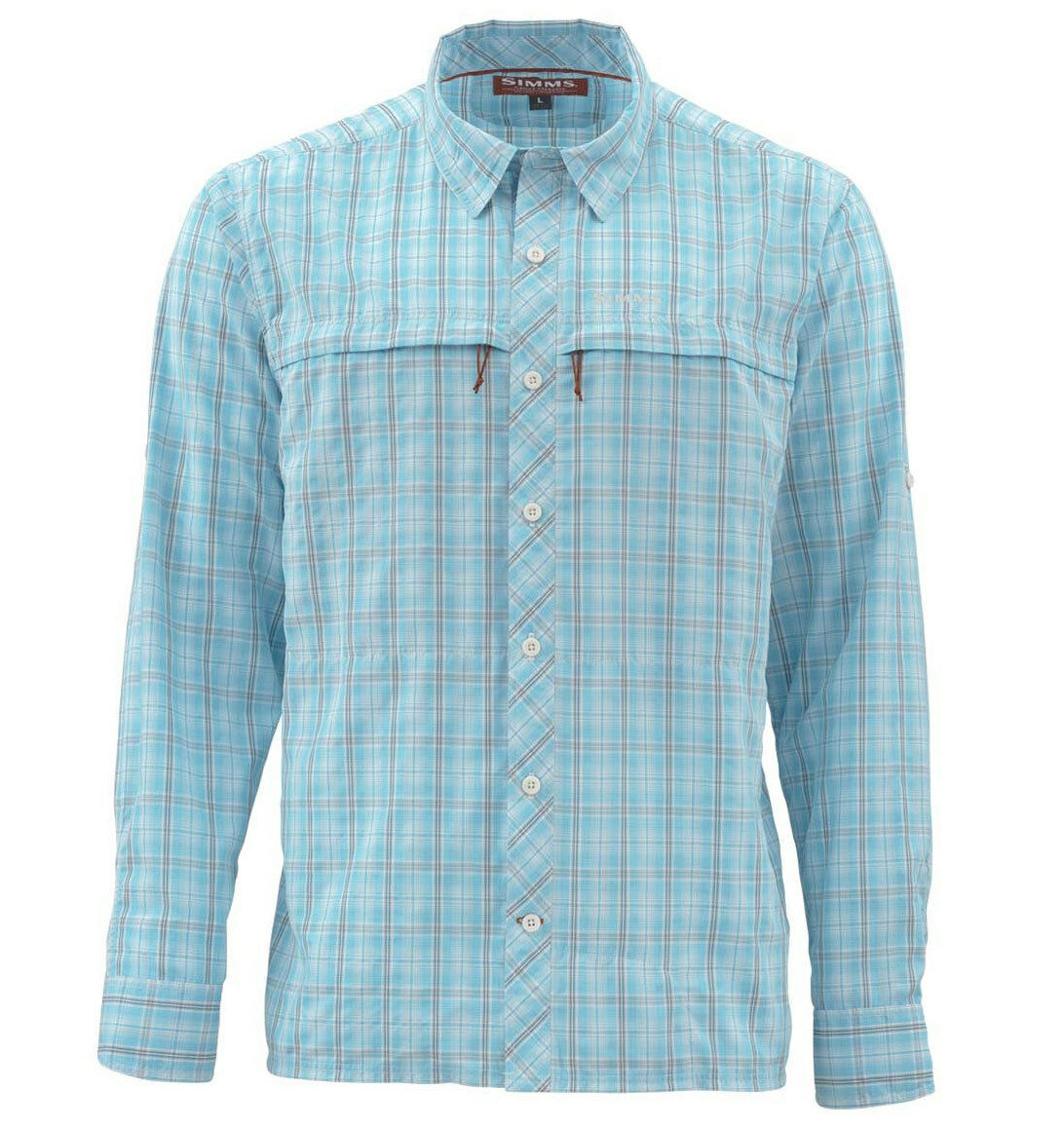 Simms Stone Cold  LS Shirt - Teal Plaid - XL - Free US Shipping  there are more brands of high-quality goods