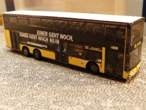 1//160 Rietze N-Spur MAN Lions City DL07 BVG Imagekampagne 16986