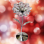 Crystocraft-Flower-Crystal-Ornament-With-Swarovski-Elements-Gift-Boxed-Pink thumbnail 7