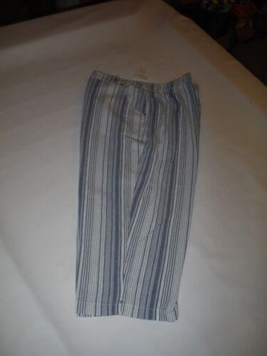 Regular Size 2XL,XL,L,Women/'s Capri Croft /& Barrow 100/% cotton Elastic waist NWT