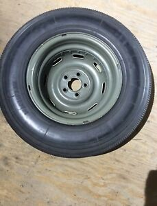 1958 Roadster Mercedes 300SL OEM Spare Wheel and Tire Great Condition!