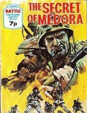 A Fleetway Battle Picture Library Pocket Comic Book Magazine #801 SECRET OF MEDO