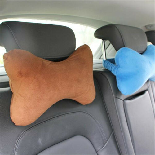 Memory Foam Soft Gel Pillow Neck Head Pain Car Travel Cushion