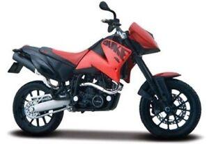 MAISTO-1-18-KTM-640-Duke-II-MOTORCYCLE-BIKE-DIECAST-MODEL-TOY-NEW-IN-BOX