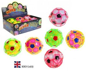 Kids DANCING CRAZY BALL Happy Bouncy Light Up Fidget Sensory New LIGHTS & SOUND