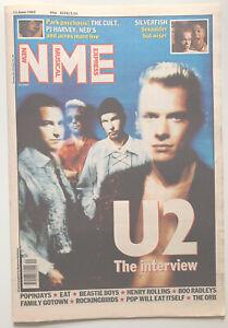 NME Music Magazine 13 June 1992 U2, Beastie Boys, Henry Rollins, Boo Radleys