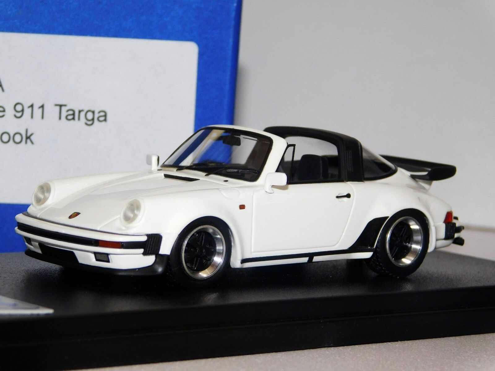 PORSCHE 911 TARGA TURBO LOOK bianca LOOKSMART LS360A 1 43