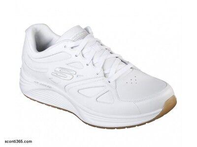 Bianco (White Wht) Skechers Skyline Woodmist, Scarpe