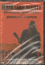 ZAKK WYLDE'S BLACK LABEL SOCIETY BOOZED, BROOZED & BROKEN - BONED PAL DVD SEALED