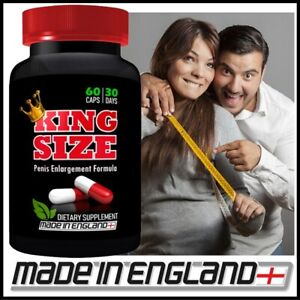 #1 KING SIZE PENIS ENLARGEMENT PILLS - GAIN 4 INCHES - INCREASE LENGTH & GIRTH