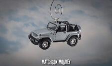 70th Anniversary 2011 Jeep Wrangler Unlimited Custom Ornament 1/64 Open Top RARE