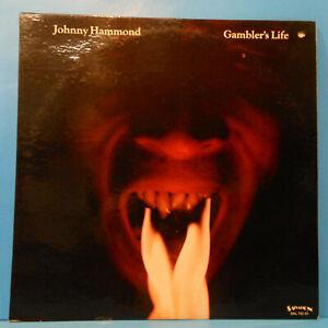 JOHNNY-HAMMOND-GAMBLER-039-S-LIFE-LP-1974-PROMO-ORIGINAL-GREAT-CONDITION-VG-VG