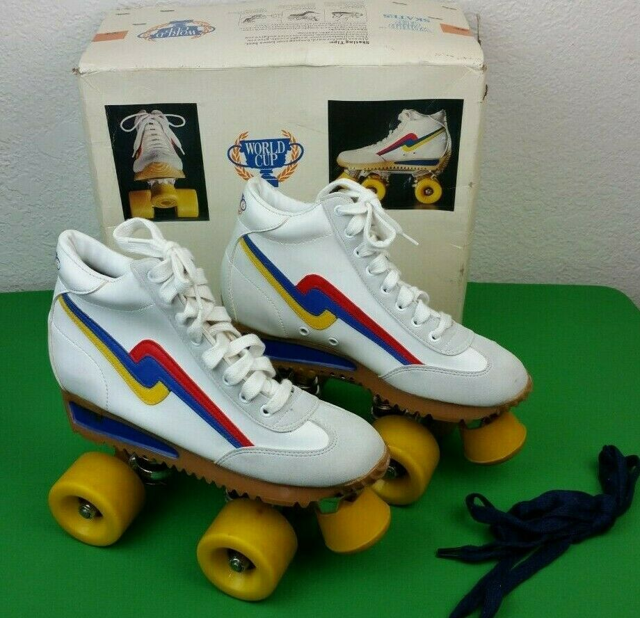 Vintage Roller S s Boys 3 Girls 5 World Cup  Decor Multi-color Lace Up 80s  official quality