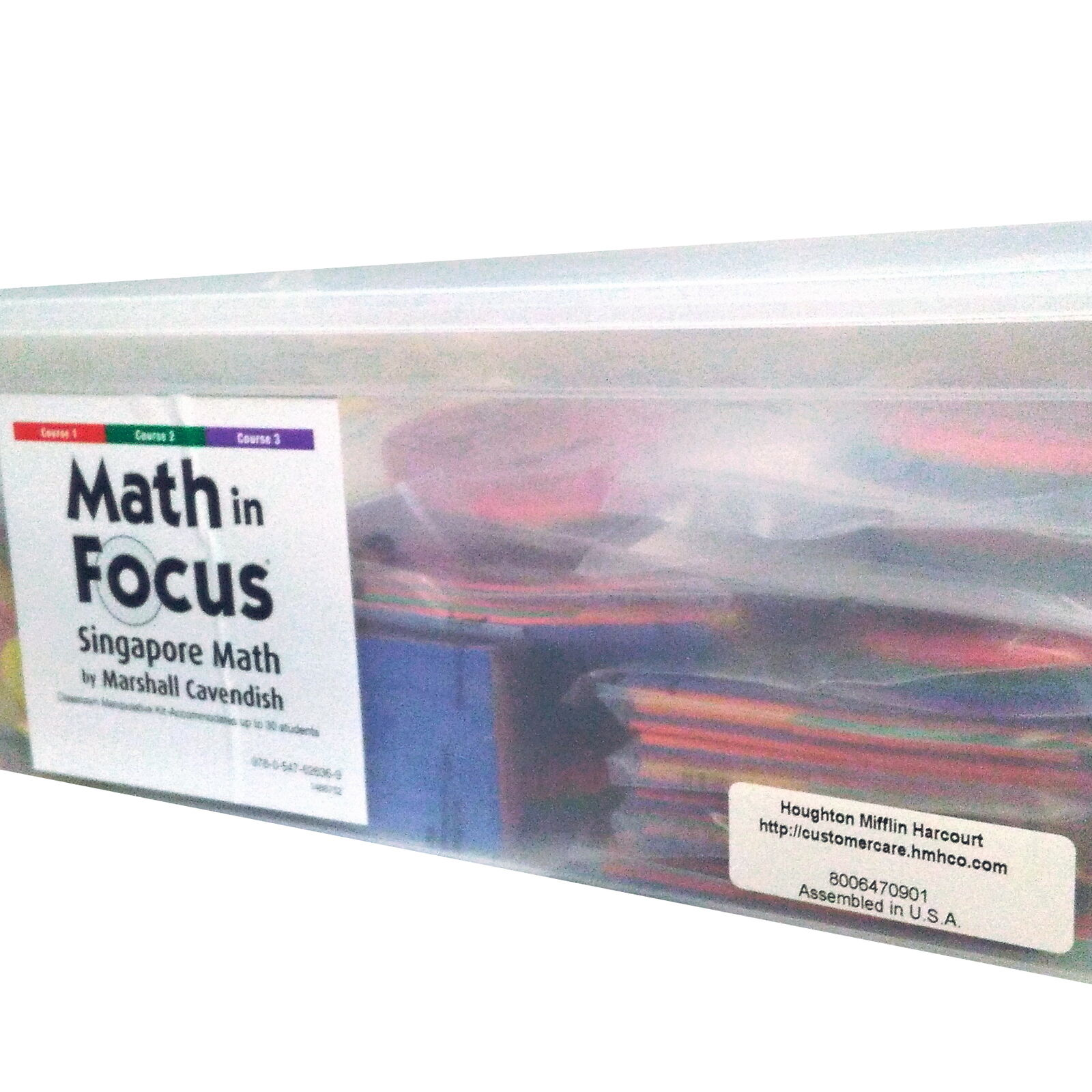 Math in Focus  Singapore Math Grade 6  Hand2Mind Classroom Kit - 30 Students Set